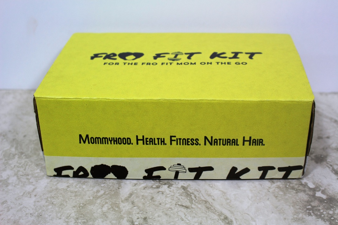 Monthly Subscription Box Review: Fro Fit Mom Kit #chicafashionblog #frofitkit