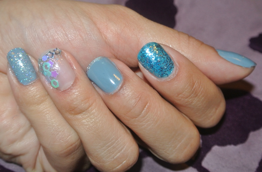 Mermaid Mani