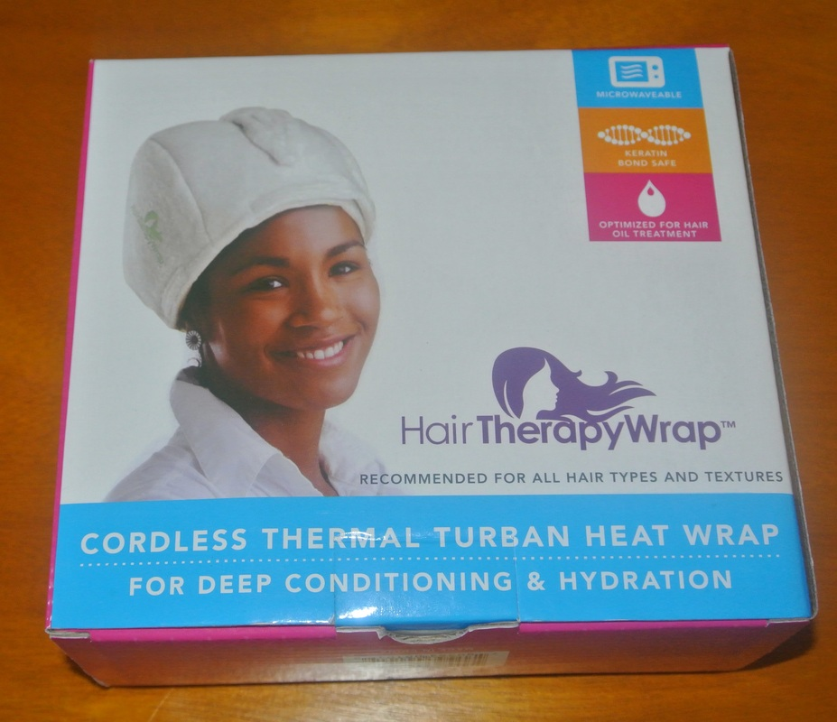 Brush Love Hair Therapy Wrap: Cordless Thermal  Heat Turban