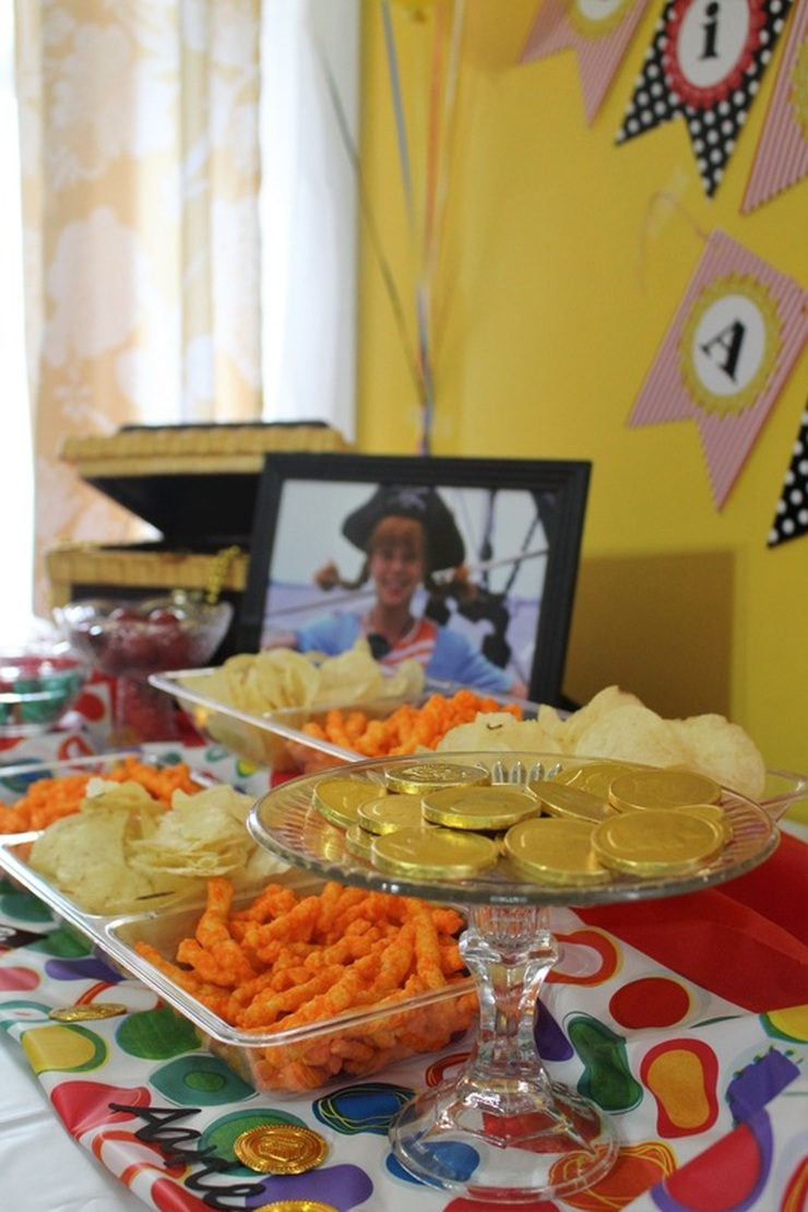Aarlen's 3rd Birthday: Pippi Longstocking Party - Food #chicafashionblog