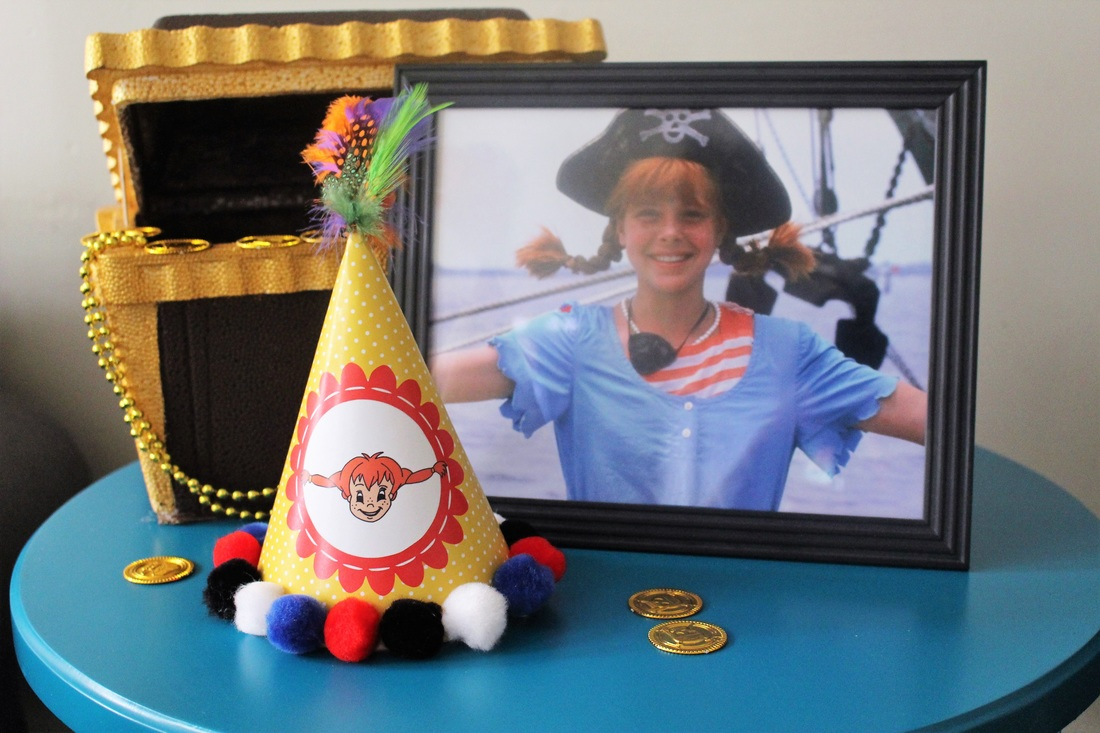 Aarlen's 3rd Birthday: Pippi Longstocking Party - Party Decor #chicafashionblog