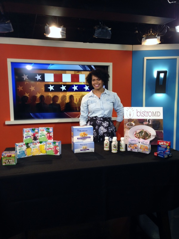 Alicia Gibbs: Chica Fashion: Telemundo Segment: Back to School Healthy Snack Options