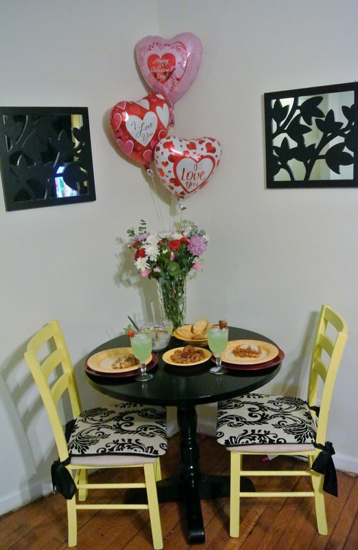 At Home Valentine's Day Date