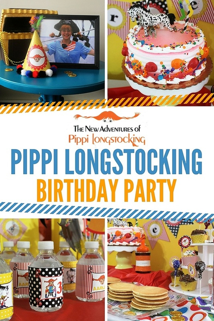 Aarlen's 3rd Birthday: Pippi Pirate Party