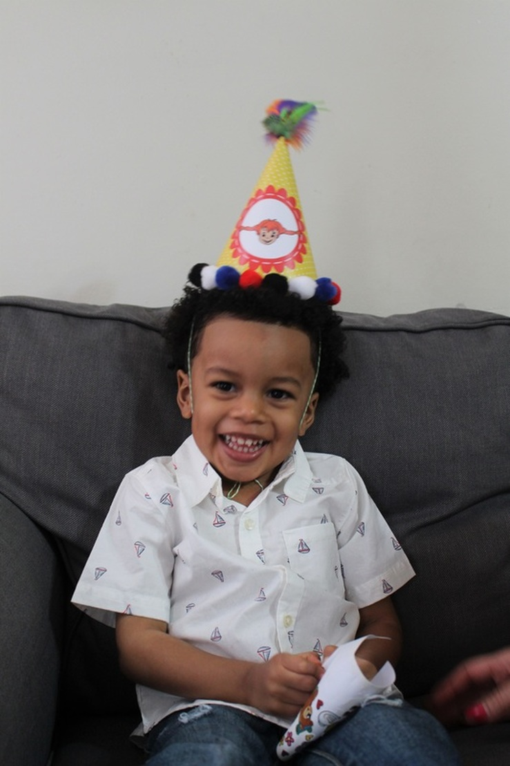 Aarlen's 3rd Birthday: Pippi Longstocking Party #chicafashionblog