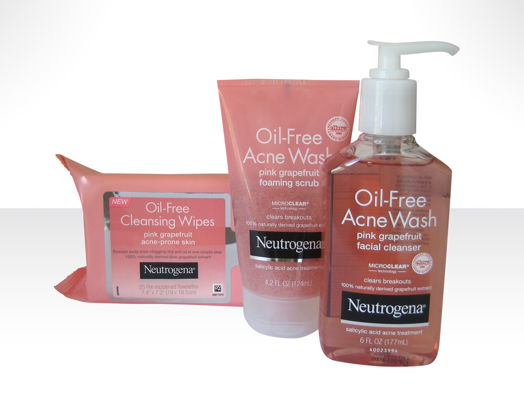 Neutrogena Oil-Free Pink Grapefruit Line