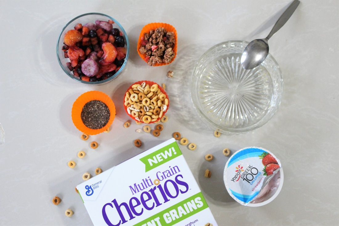 Quick + Easy Smoothie Bowl #ad #LoveAncientGrains #chicafashionblog