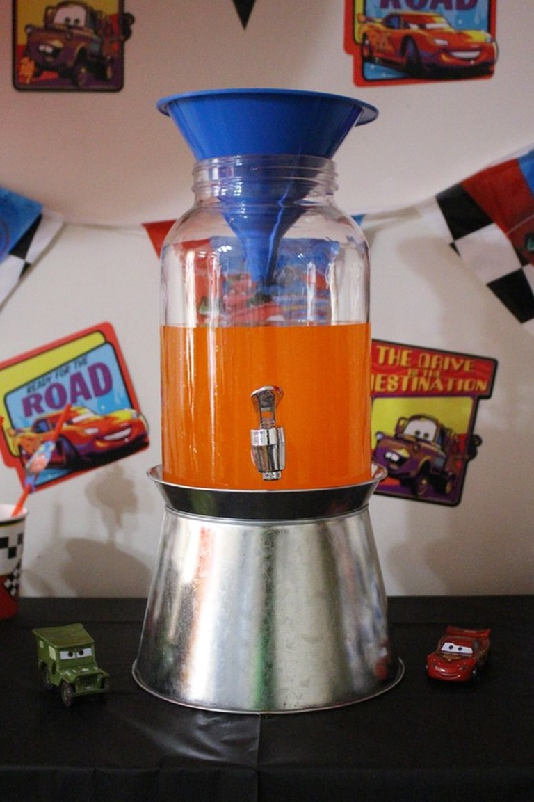 AARLÉN TURNS 4: DISNEY CARS BIRTHDAY PARTY - Drink Station #AliciaEverAfterBlog