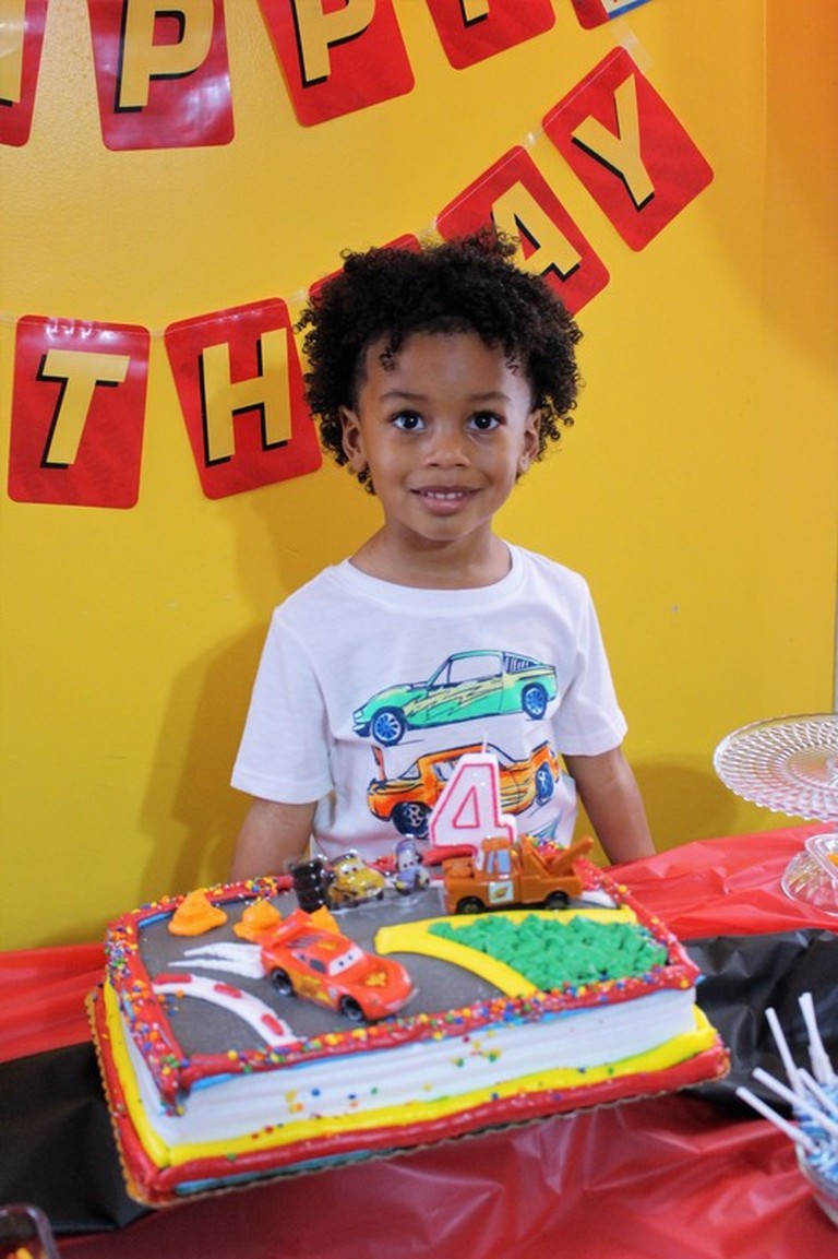AARLÉN TURNS 4: DISNEY CARS BIRTHDAY PARTY #AliciaEverAfterBlog