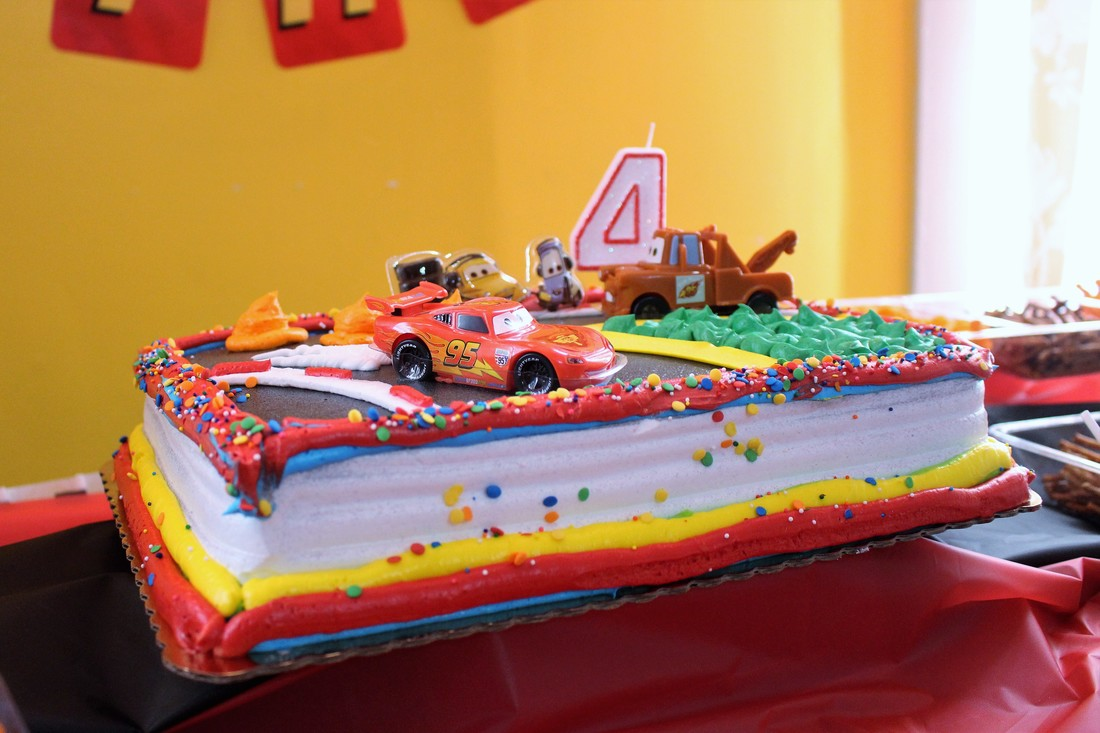 AARLÉN TURNS 4: DISNEY CARS BIRTHDAY PARTY - Cake #AliciaEverAfterBlog