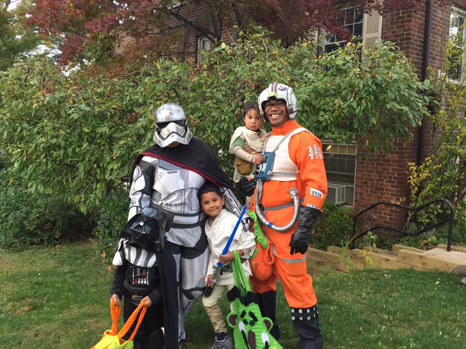 Alicia Gibbs: 12 DIY Family Themed Costumes - Starwars