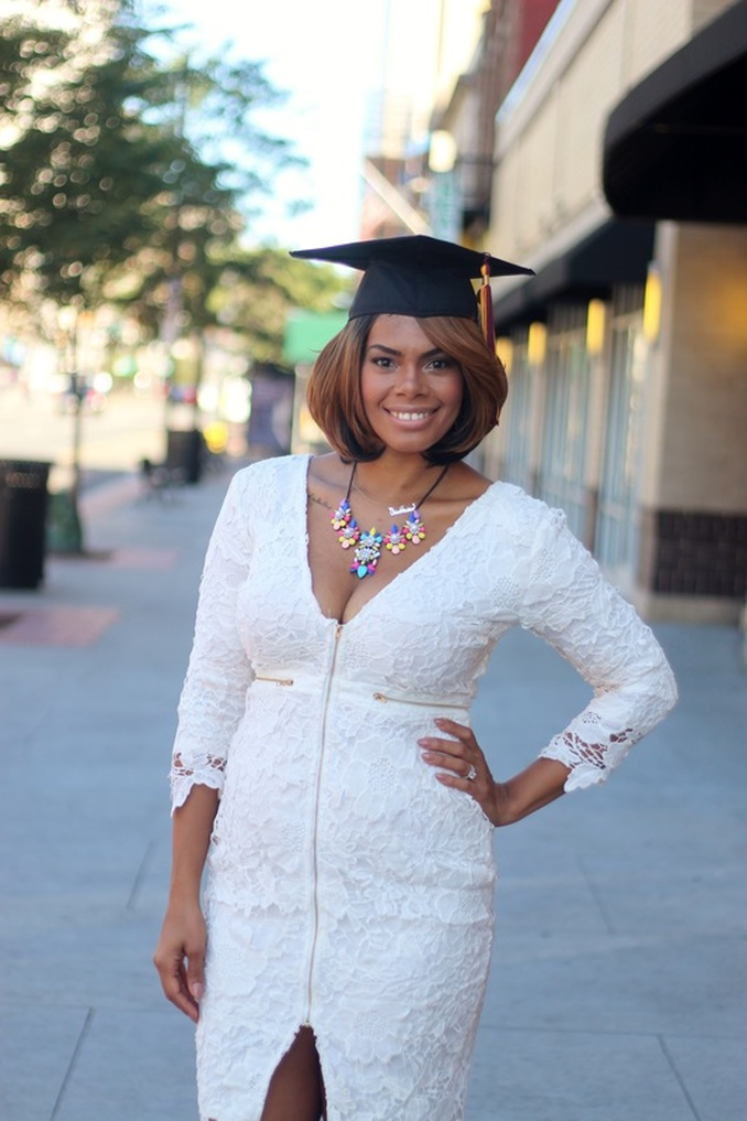 Alicia Gibbs: It is not JUST an Associate's Degree #ChicaFashionBlog