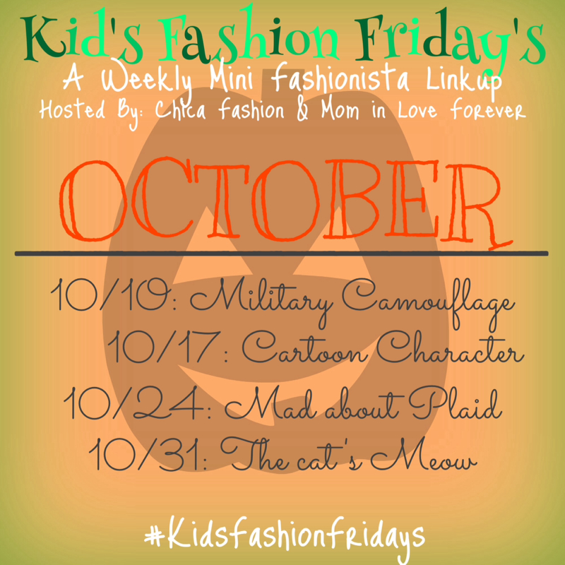Chica Fashion: October Kids Fashion Fridays