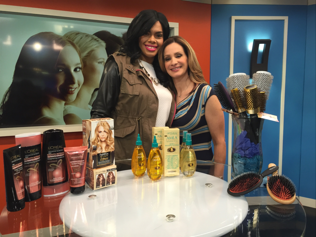 Telemundo Segment: Best Products for Winter Hair Care! #ChicaFashionBlog