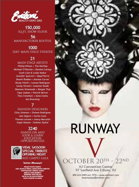 2012 Emiliani Beauty Expo, RUNWAY V