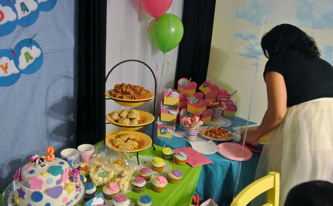 Naliya's Lalaloopsy 3rd Birthday Party