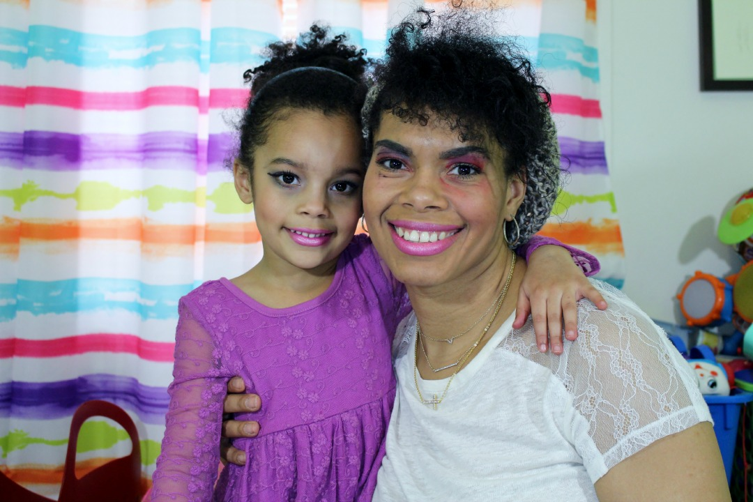 Alicia Gibbs: Mother Daughter Makeup: Mini Chica Fashion does My Makeup #ChicaFashionBlog