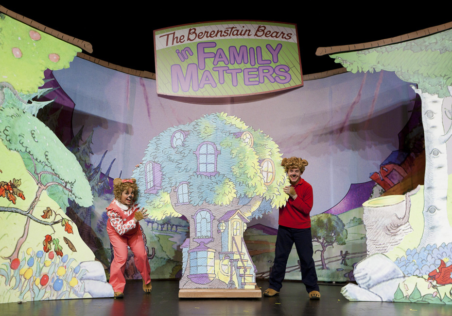 Alicia Gibbs: Summer Diaries: The Berenstain Bears Live #ChicaFashionBlog