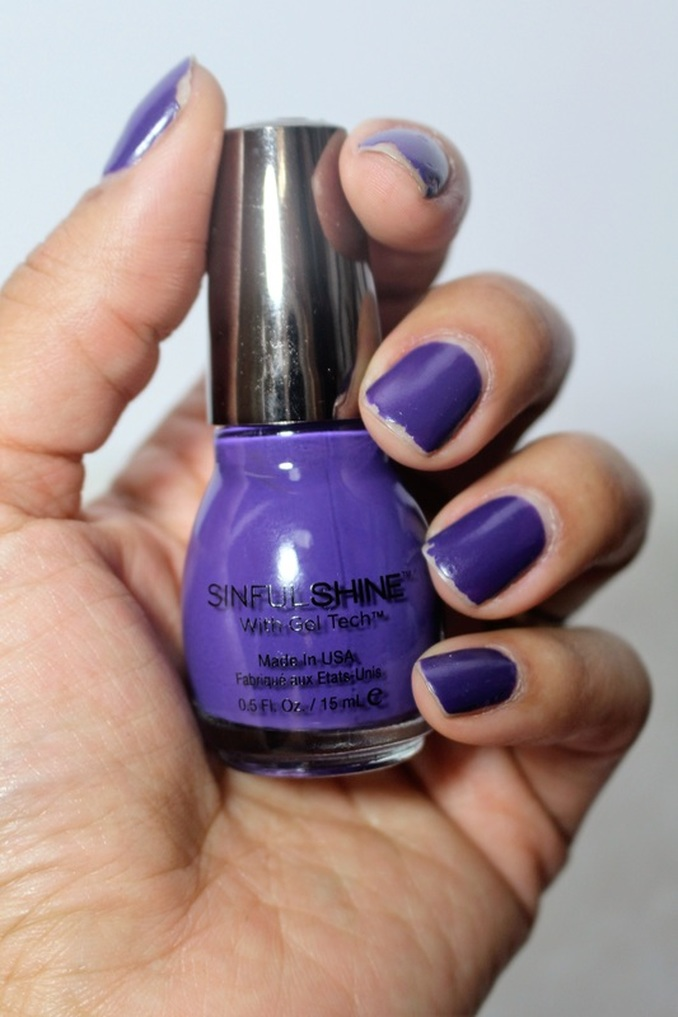 Review: New SinfulColors Sinful Shine Gel Polishes