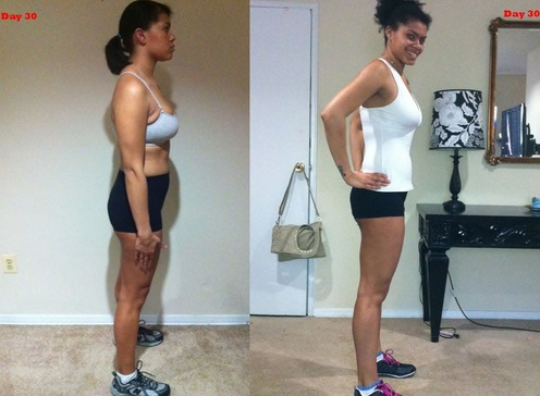 beachbody shakeology before and after
