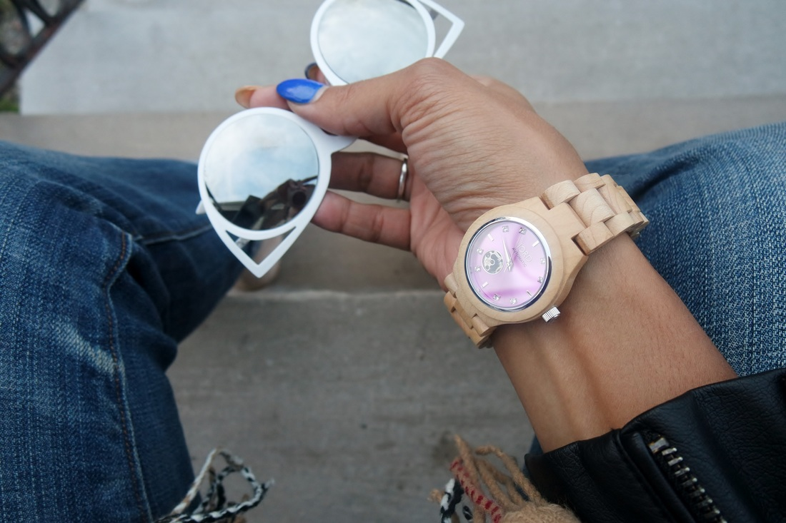 Alicia Gibbs: Review: Wood Watches by Jord #chicafashionblog