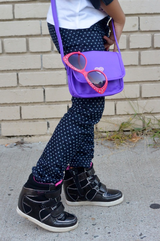 Kid's Fashion Friday's: Monster High Tee + Heart Print Skinnies #chicafashion