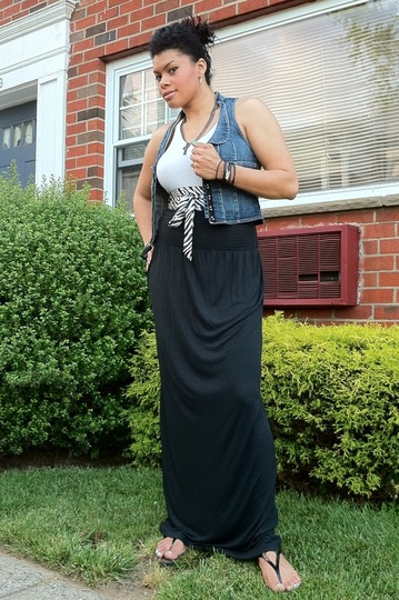 I Challenge You To... Wear A Maxi Skirt