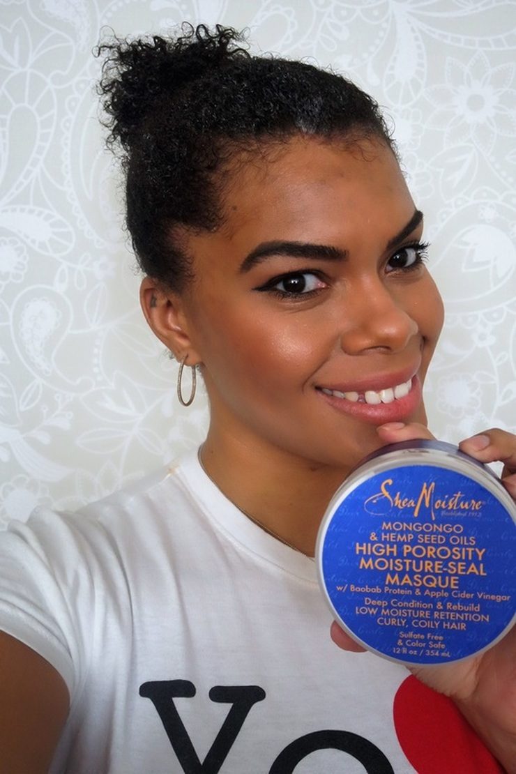 Hair Porosity 101: Shea Moisture High + Low Porosity Collection Review + Giveaway #chicafashionblog