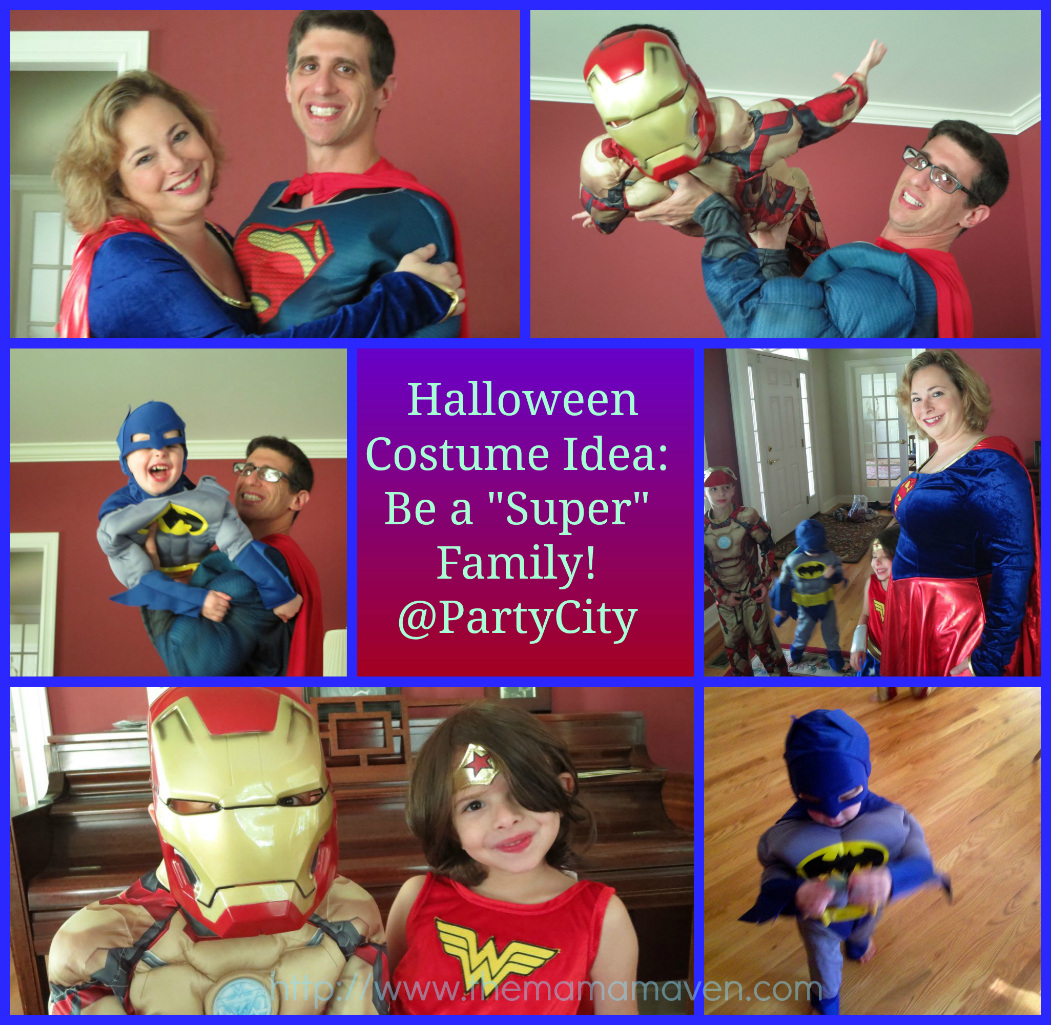 Alicia Gibbs: 12 DIY Family Themed Costumes - Super Heros