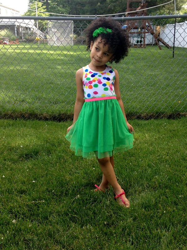 Mini Chica Fashion: FabKids Colorful Dot Tutu Dress