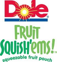 Dole Squish'ems, Squeezable Fruit Pouches