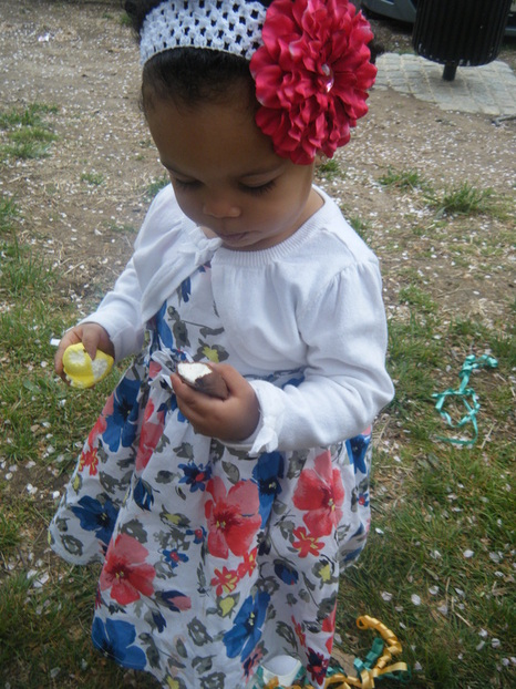Naliya Mini Chica Fashion: Easter Sunday OOTD