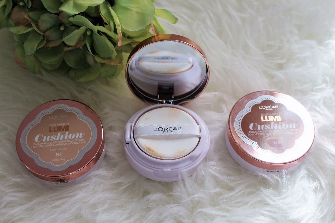 Review: L'Oreal Lumi True Match Cushion Foundation + Giveaway #chicafashionblog #loreal