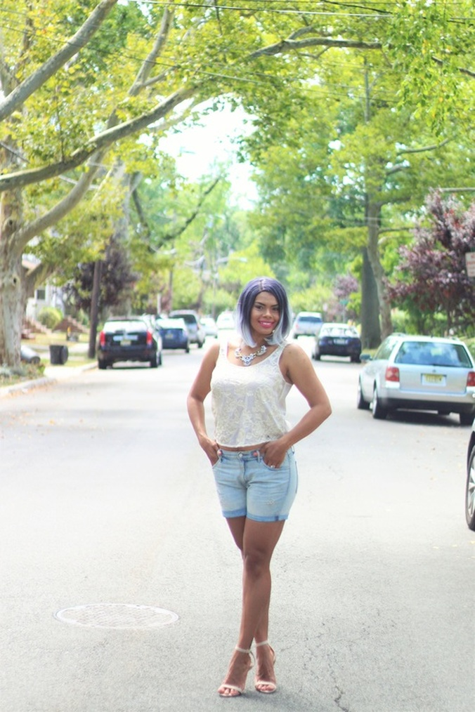 Alicia Gibbs: My Summer Go-to, The Boyfriend Short #ChicaFashionBlog