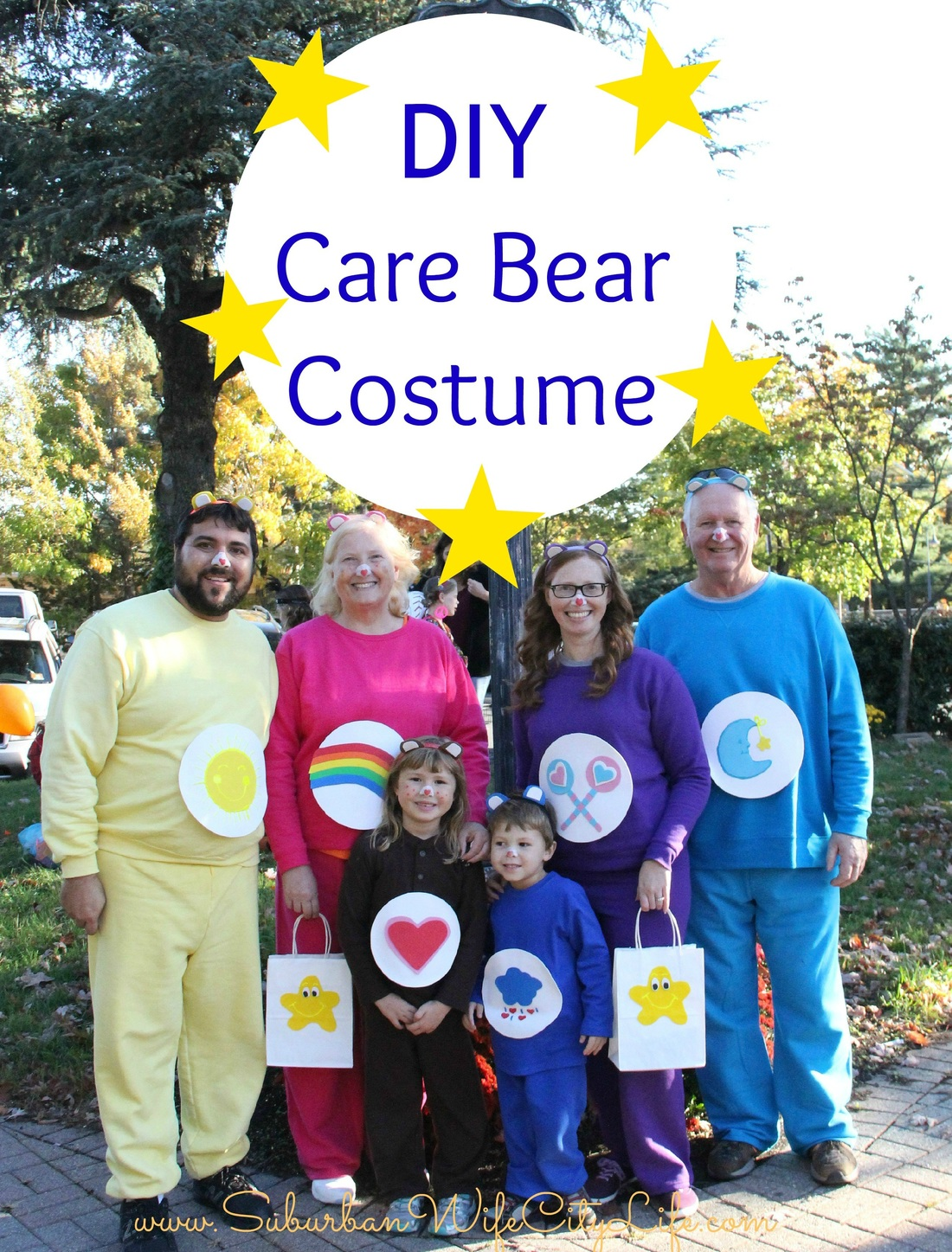 Alicia Gibbs: 12 DIY Family Themed Costumes - Care Bears
