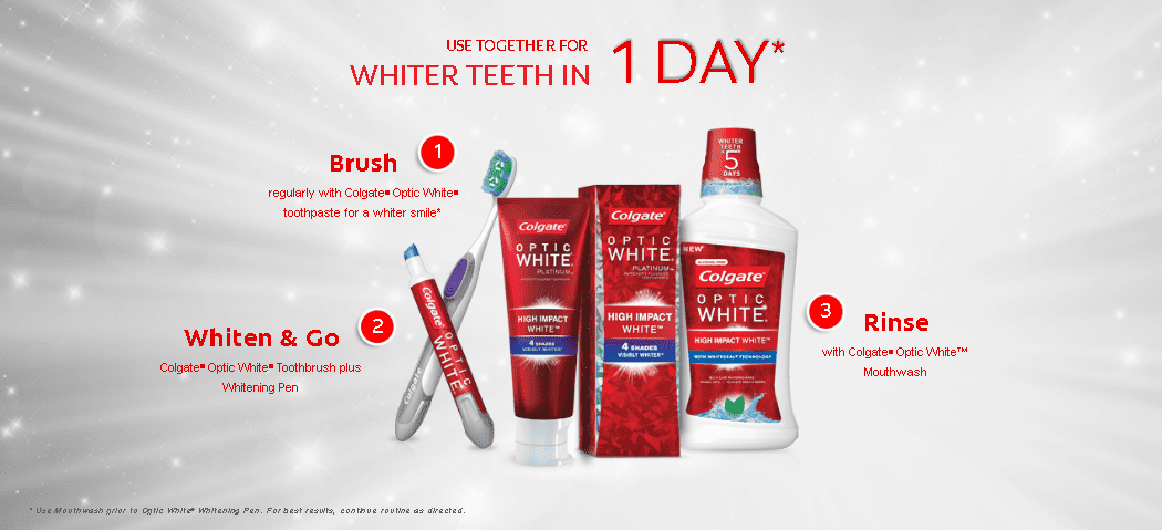 Alicia Gibbs: Take the Colgate OPTIC WHITE Challenge this New Year #ChicaFashionBlog
