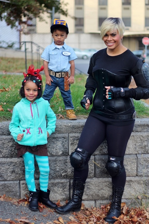Alicia Gibbs: 12 DIY Family Themed Costumes - Wreck It Ralph